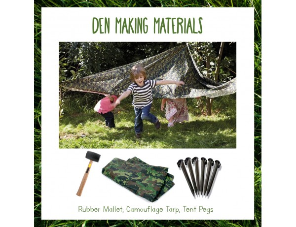 Outdoor Essentials: Camouflage Den Kit