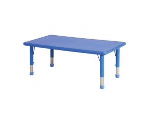 Rainbow Height Adjustable Rectangular Table