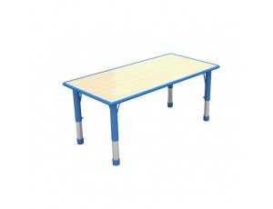 Hi Lo Adjustable Rectangular Table