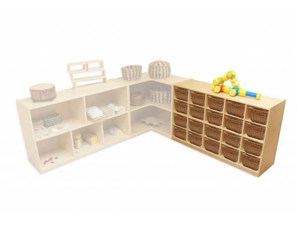 20 Cubby Storage