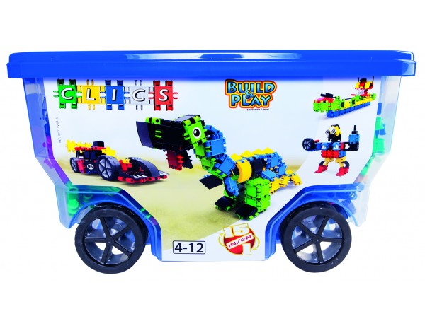 Clics Blue Roller Box - 400 Pieces