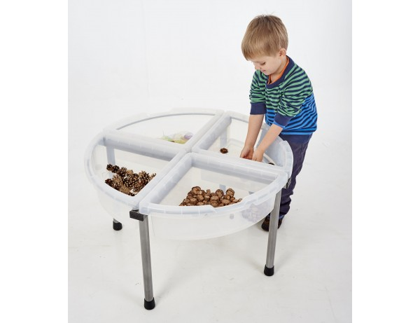 Exploration Circle Set - Four Tray Clear