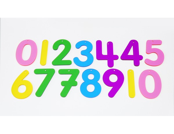 RAINBOW NUMBERS - PACK 12
