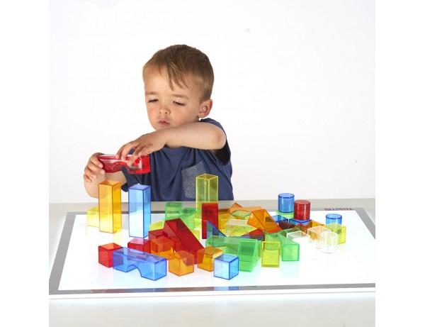 Translucent Colour Blocks - Pk50 18M+