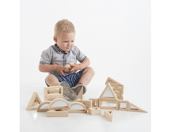 Mirror Block Set (24 X 6 Shapes) 18M+