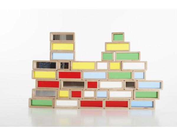 Rainbow Bricks 18M+