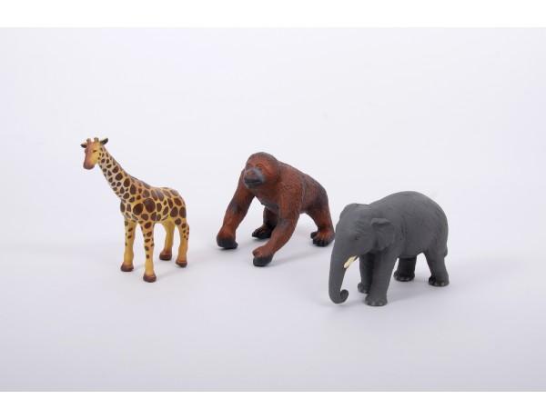 Soft Rubber - Jungle Set 12M+