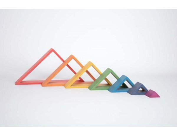 Rainbow Architect Triangles 12M+
