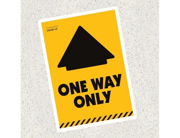 Primary School One Way Floor Graphic