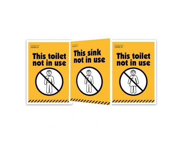 Primary School Toilet Posters (Set of 6)