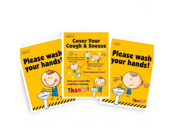 Primary School Info Poster Set (Set of 12)