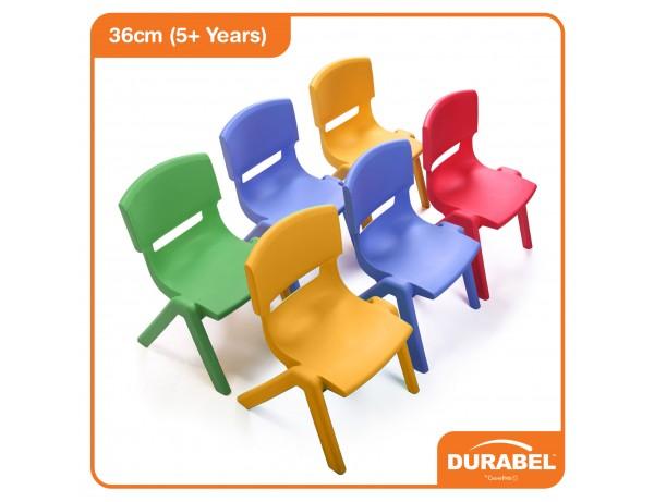 Durabel Rainbow Easy Stack Chair (36cm - 5+ Years)