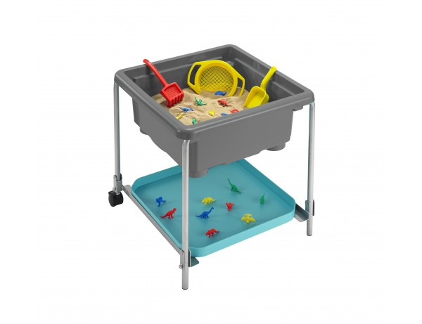 Sensory Station Volcano Grey Activity Tray And 40cm Stand (0 - 2 Years)