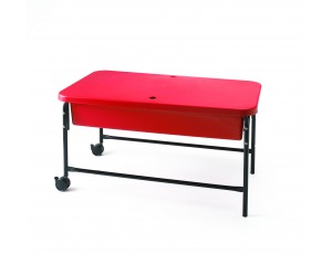 Sand and Water Table, RED, 40CM 1 - 3 Years