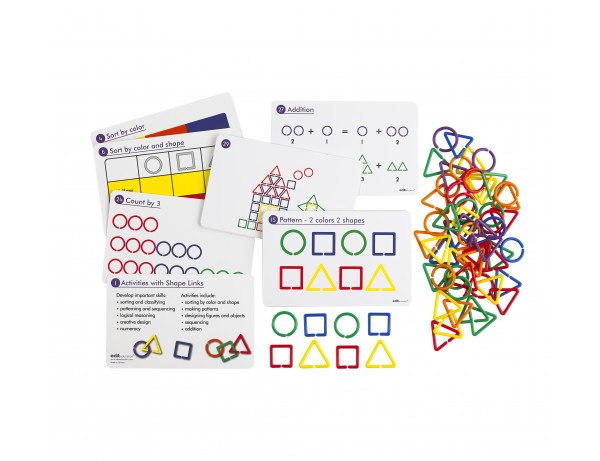 Shape Links Activity Sheets