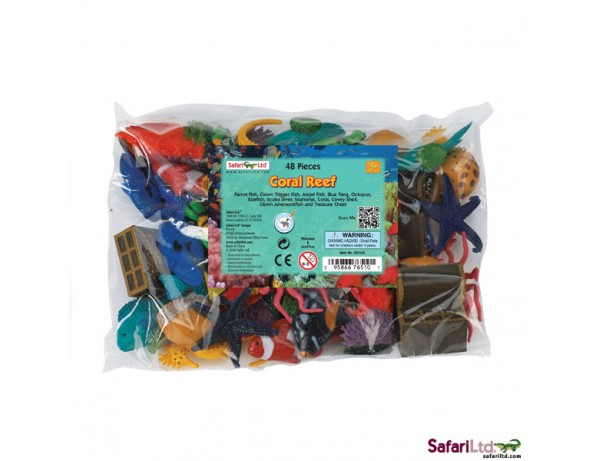 Coral Reef Bulk Bag - 48 Pieces