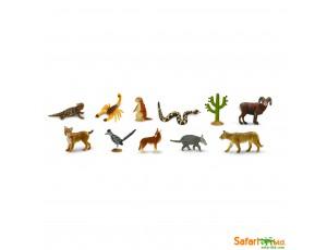 Desert Animals Bulk Bag - 48 Pieces