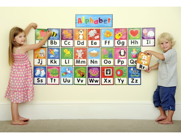 Alphabet Bulletin Board 4+