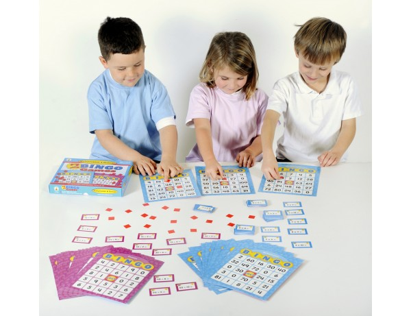 Multiplication and Division Bingo Board Game 7+