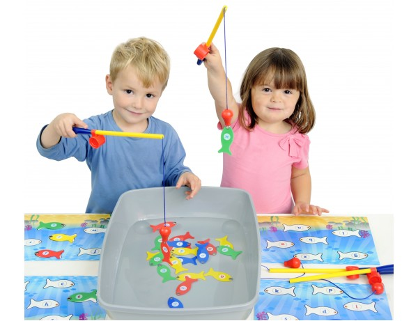 Magnetic Alphabet Fishing 3+