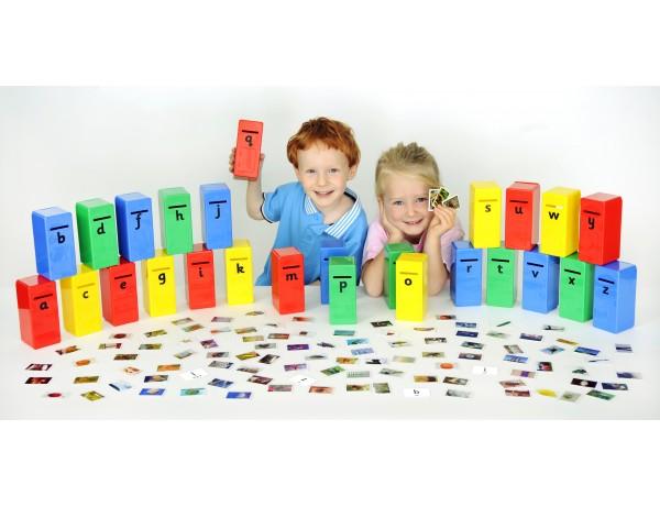 Alphabet Posting Game 3+
