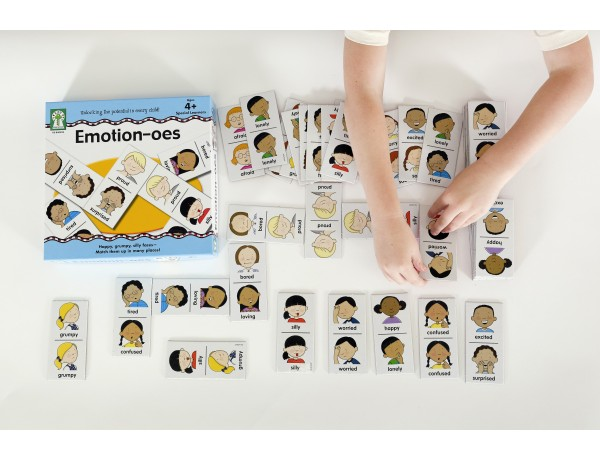 Emotion-oes Board Game 4+