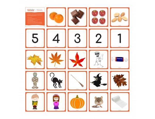 Halloween - Robotics Grid Cards (for Bee Bot + Blue Bot)