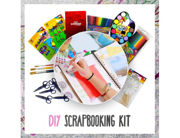 DIY Scrapbooking Kit - Arts & Crafts Bundles