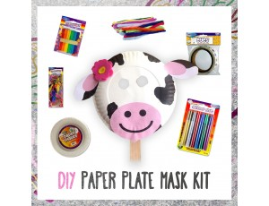 DIY Paper Plate Face Mask Kit - Arts & Crafts Bundles