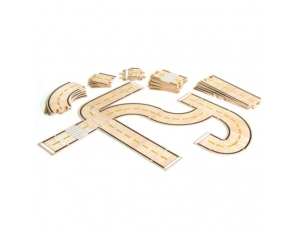 Roadway System - 42 pc. set  (*Roads only)