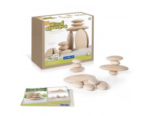 Sensory Wood Stackers River Stones