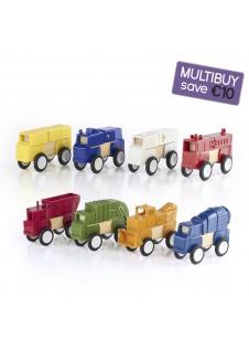 Block Mates Vehicles Multibuy - Construction & Community Vehicles