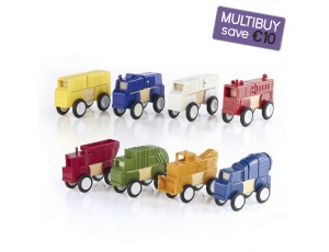 Block Mates Vehicles Multibuy - Construction & Community Vehicles