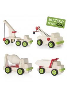 Block Science Multibuy Set - 4 Vehicles (save €40)