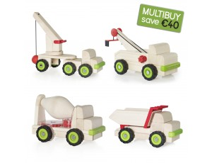 Block Science Multibuy Set - 4 Vehicles (save €40)