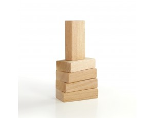 Hardwood Unit Blocks - 5 pc. set