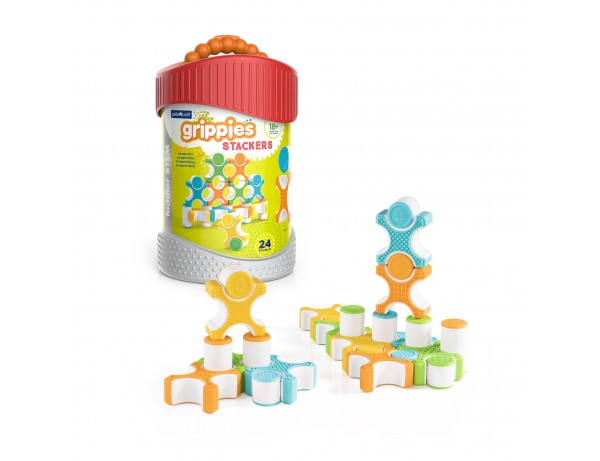 Grippies Sensory Stackers - 24 pc. set