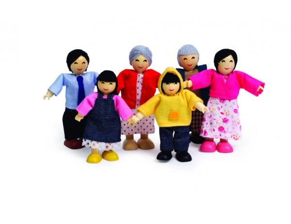 Happy Family Asian