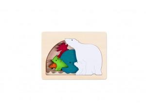 Polar Layered Puzzle