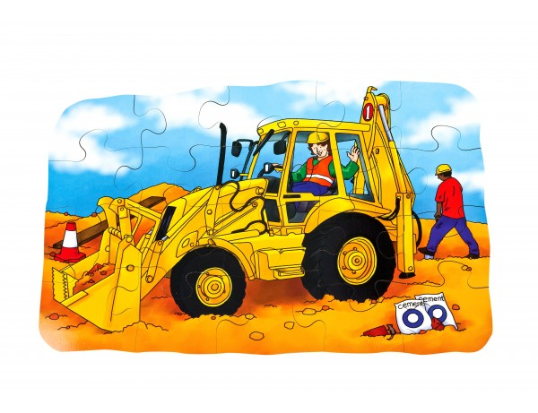 Digger Giant Floor Puzzle
