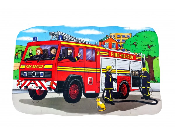 Fire Engine Giant Floor Puzzle