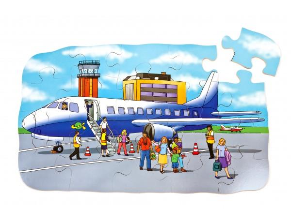 Aeroplane Giant Floor Puzzle
