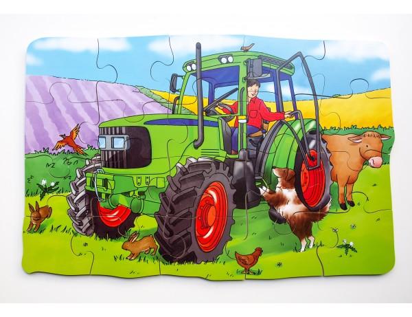 Tractor Giant Floor Puzzle