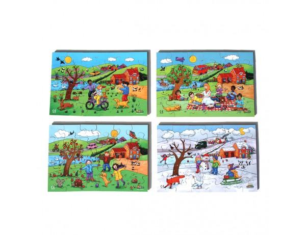 Four Seasons Puzzle