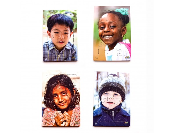 Children of the World Puzzle Set