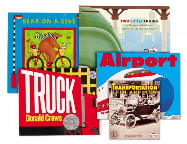 Transportation Theme Book Library