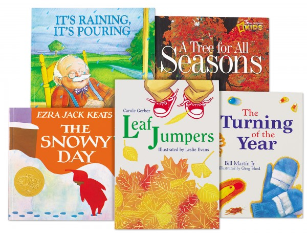 Seasons & Weather Theme Book Library