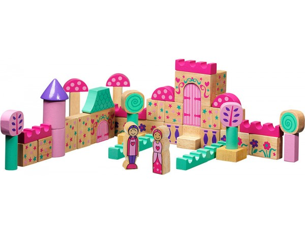 Fairytale - 50 building blocks + bag 10M+