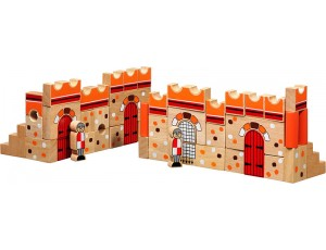 Castle - 46 building blocks + bag 10M+
