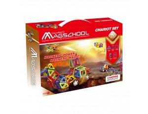 MagSchool Chariot - 66 pieces